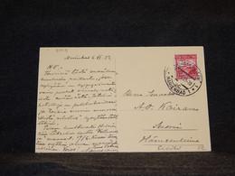 Czechoslovakia 1933 Marienbad Postcard To Finland__(3003) - Cartas