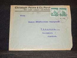 Czechoslovakia 1937 Christoph Palme Business Cover To Finland__(3001) - Cartas