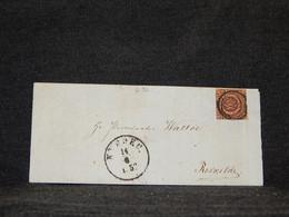 Denmark 1853 Nyborg Part Of Letter To Roskilde__(2196) - Covers & Documents