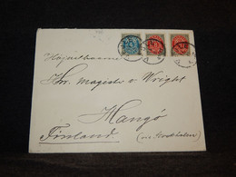 Denmark 1896 Cover To Finland__(786) - Lettres & Documents