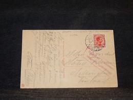 Denmark 1910's Paper Fold Postcard To Finland__(4096) - Briefe U. Dokumente