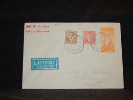 Denmark 1936 Köbenhavn Air Mail Cover__(2653) - Aéreo