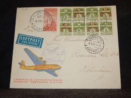 Denmark 1938 Köbenhavn Air Mail Cover__(3522) - Aéreo
