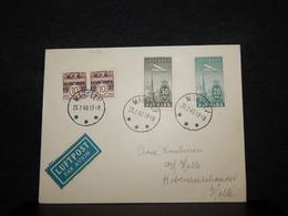 Denmark 1940 Marslev Air Mail Cover__(4136) - Aéreo
