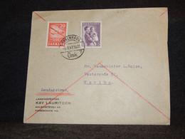 Denmark 1943 Köbenhavn Cover To Maribo__(2490) - Briefe U. Dokumente