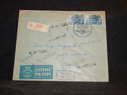 Denmark 1949 Köbenhavn Air Mail Cover To Roma__(2540) - Aéreo