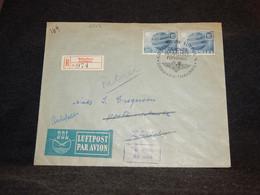 Denmark 1949 Köbenhavn Air Mail Cover To Switzerland__(2542) - Aéreo
