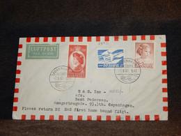 Denmark 1961 Köbenhavn SAS Air Mail Cover__(2492) - Aéreo