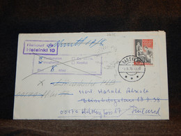Denmark 1976 Bagsvaerd Retour Cover__(2671) - Cartas
