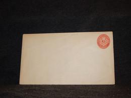 Denmark West Indies 3c Red Unused Stationery Envelope__(2505) - Danemark (Antilles)