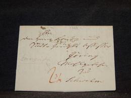 Germany 1820 Emmerich Prephilately Letter__(3329) - [1] Precursores