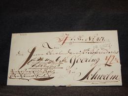 Germany 1820 Prephilately Letter__(3319) - [1] Precursores