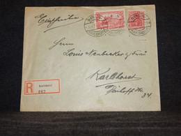 Germany 1921 Berlin Registered Cover__(641) - Cartas