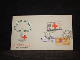 Hong Kong 1965 Kowloon Cover__(966) - Briefe U. Dokumente