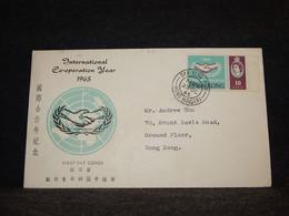 Hong Kong 1965 Sai Ying Pun Cover__(941) - Briefe U. Dokumente