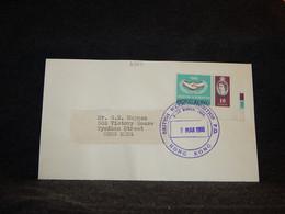 Hong Kong 1966 British Week Cancellation Cover__(2387) - Briefe U. Dokumente