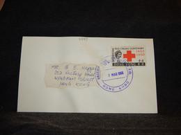 Hong Kong 1966 British Week Cancellation Cover__(2389) - Briefe U. Dokumente
