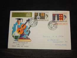 Hong Kong 1966 Kowloon Cover__(965) - Briefe U. Dokumente