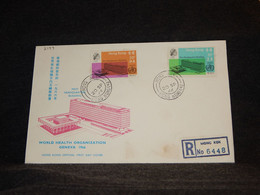 Hong Kong 1966 Mong Kok Registered Cover__(2199) - Briefe U. Dokumente