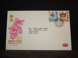 Hong Kong 1968 Morrison Hill Road Cover__(949) - Briefe U. Dokumente