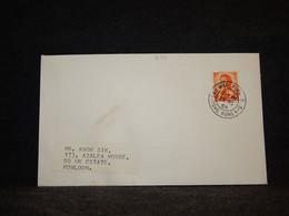 Hong Kong 1969 Sau Mau Ping Cover__(939) - Briefe U. Dokumente