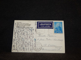 Hungary 1924 Air Mail Card To Switzerland__(418) - Briefe U. Dokumente