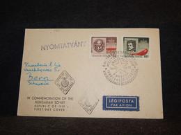 Hungary 1949 Air Mail Card To Switzerland__(1491) - Briefe U. Dokumente