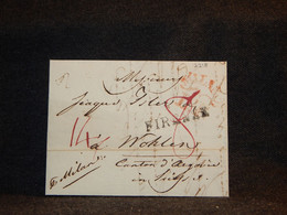 Italy 1826 Firenze Prephilately Letter__(2218) - 1. ...-1850 Prefilatelia