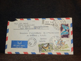 Lebanon 1969 Beyrouth Air Mail Cover To Canada__(103) - Líbano