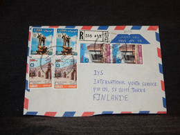 Lebanon 2000 Air Mail Cover To Finland__(2055) - Líbano