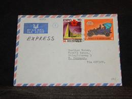 Maldives 1972 Air Mail Cover To Germany__(2352) - Maldivas (1965-...)