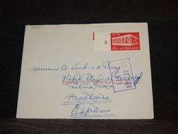 Netherlands 1970's Retour Cover To Spain__(1837) - Briefe U. Dokumente