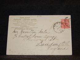 New South Wales 1905 Sydney Postcard To UK__(3179) - Briefe U. Dokumente