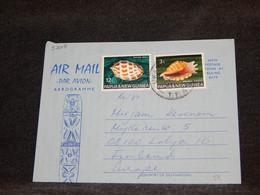 Papua New Guinea 1974 Aerogramme To Finland__(3208) - Papua New Guinea