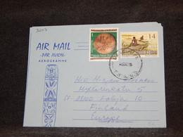 Papua New Guinea 1975 Aerogramme To Finland__(3207) - Papua New Guinea