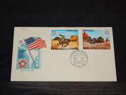 Paraguay 1976 USA Independence Cover__(1288) - Paraguay