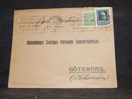 Poland 1931 Warszawa Cover To Sweden__(3264) - Briefe U. Dokumente
