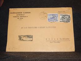 Poland 1936 Warszawa Registered Cover To Minsk__(3276) - Briefe U. Dokumente
