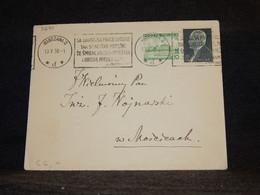 Poland 1938 Warszawa 2 Slogan Cancellation Cover__(3270) - Briefe U. Dokumente