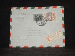 Portugal 1968 Lisboa Registered Cover__(1447) - Briefe U. Dokumente