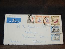 Rhodesia & Nyasaland 1950's Air Mail Cover__(2731) - Rhodesien & Nyasaland (1954-1963)