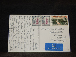 Rhodesia & Nyasaland 1960 Air Mail Card To North Ireland__(2728) - Rhodesien & Nyasaland (1954-1963)