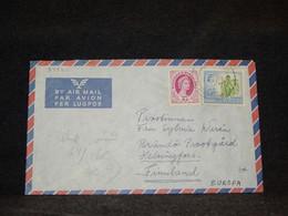 Rhodesia & Nyasaland 1960 Air Mail Cover To Finland__(2737) - Rhodesien & Nyasaland (1954-1963)