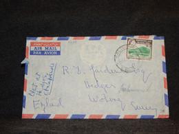 Rhodesia & Nyasaland 1962 Salisbury Air Mail Cover To Uk__(2739) - Rhodesien & Nyasaland (1954-1963)