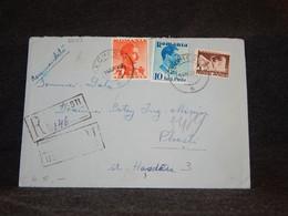 Romania 1939 Registered Cover To Ploesti__(2693) - Briefe U. Dokumente