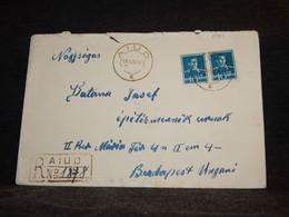 Romania 1941 Aiud Red Cover__(2861) - Briefe U. Dokumente