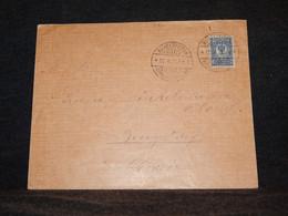 Russia 1913 Michelspiltom Cover To Switzerland__(796) - Cartas