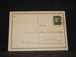 Slovakia 1941 Zilina 50g Green Stationery Card__(2734) - Cartas