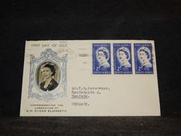 South Africa 1950's Cover To Denmark__(3749) - Briefe U. Dokumente