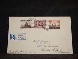 South Africa 1953 Eshowe Registered Cover__(2400) - Briefe U. Dokumente